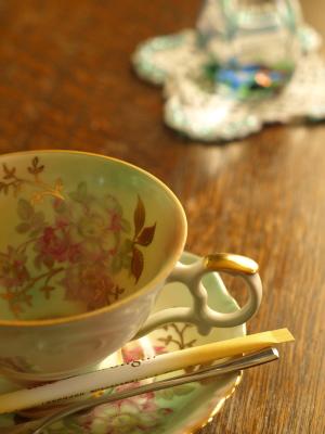 紅茶のカップ@ギャラリー喫茶きりん