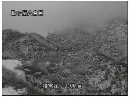10/30AM10:00秋田駒8合目