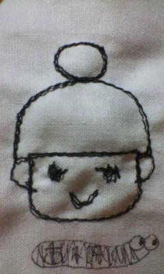 さちん子刺繍