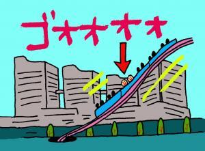 ジェットコースター