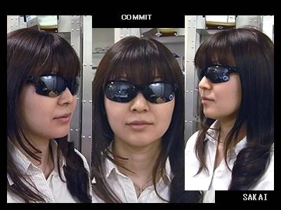 OAKLEY(オークリー)COMMIT(コミット)03-781 SQ Polished Black /Black Iridium \19,950(本体¥19,000)