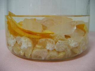 解体されて沈められた柚子