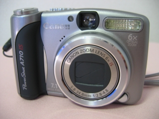 PowerShot A710IS