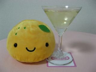 「ゆずまんじゅうちゃん」と柚子酒