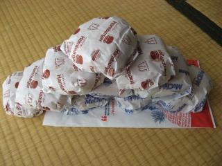 ハンバーガー&マックチキン