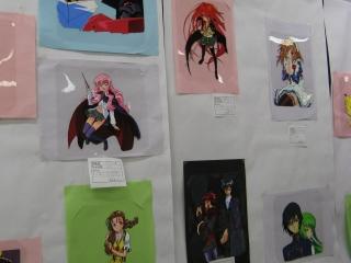 セル画の展示