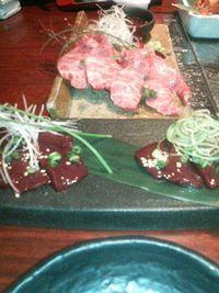 黒牛屋 肉1