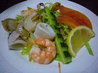 大洗シーサイドホテル 海鮮サラダ