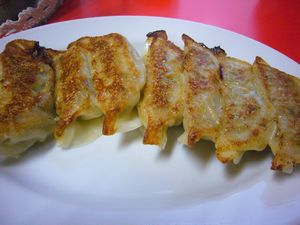 昇龍軒 焼き餃子