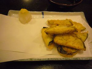 世界の山ちゃん なすの天ぷら