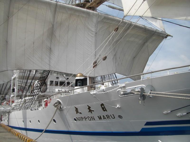 日本丸2008年8月1日撮影