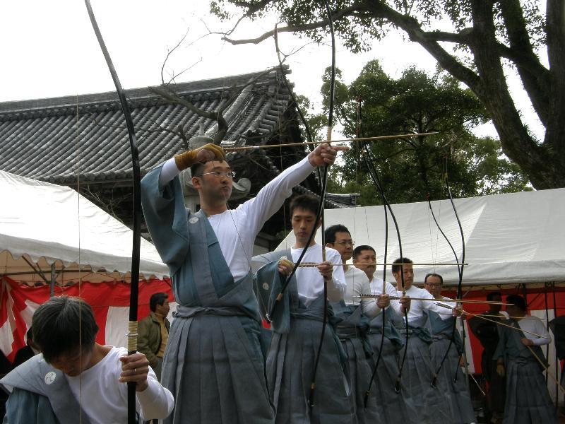 川之江八幡神社 百手祭