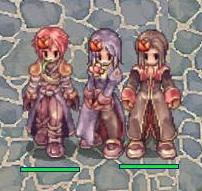 チューリップ三人娘?