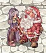 サンタさんと♪