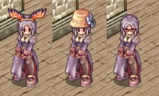 ペコHB・避暑地の帽子・眼鏡