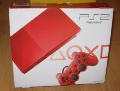 PlayStation2 90006 Cinnabar Red