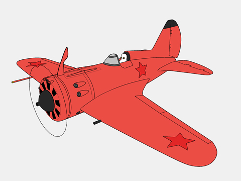 赤いポリカルポフ