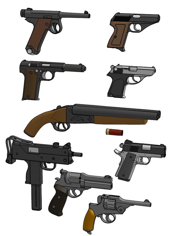 武器見本01