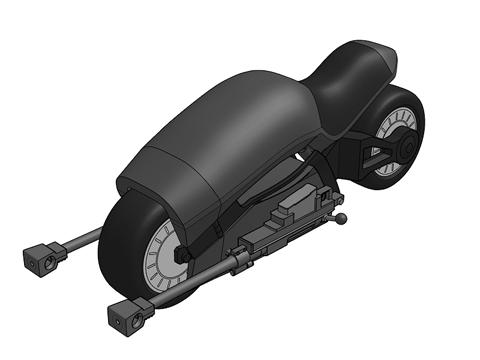 獣騎兵バイク01