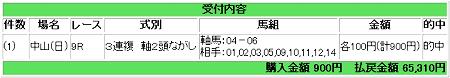 2008.09.14中山9R万馬券.JPG