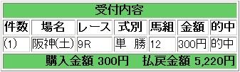 2009.03.07阪神7R単勝.JPG