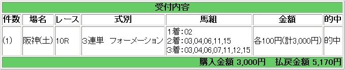 2009.03.07阪神10R3連単.JPG