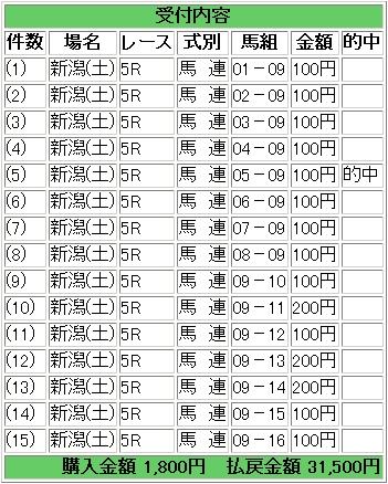 2009.05.09新潟5R馬連.JPG