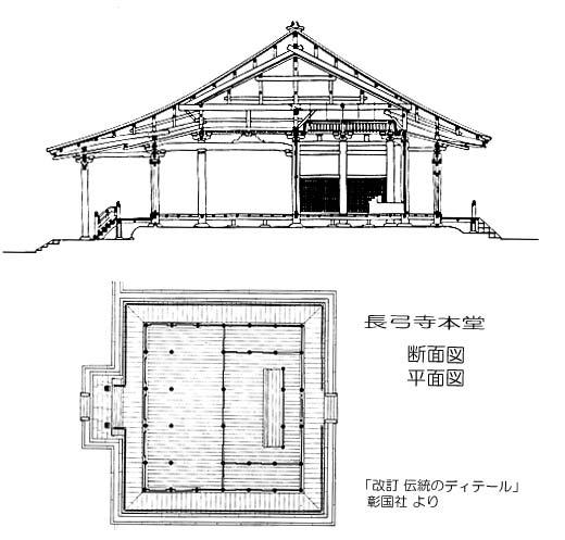 長弓寺図面