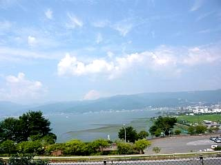 諏訪湖SA(景色1)