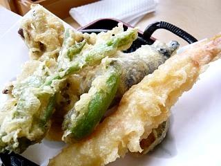 昼食(天ぷら)