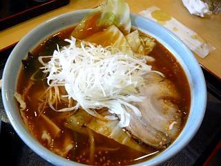 昼食(味噌ラーメン)