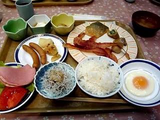 旅館(朝食バイキング)