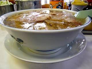 安福亭(チャーシュー麺下皿)