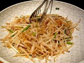 魚金(もやし炒め)