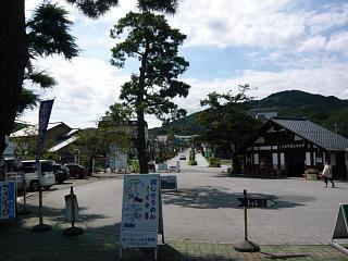 長瀞駅(ロータリー)