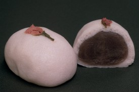 桜薯蕷饅頭
