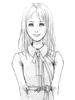 少女時代のお嬢様