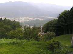 頂上駅からの景色