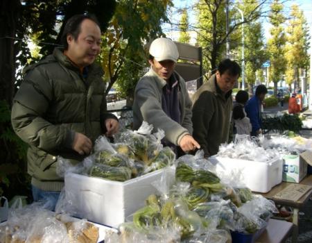 下条の野菜即売2