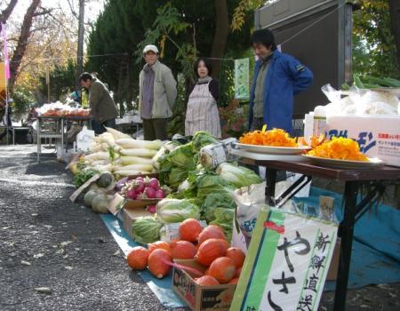 下条の野菜即売3