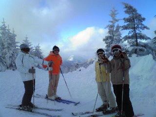 正月スキーin志賀高原2