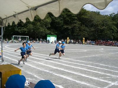 5年生の100m走