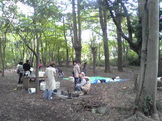 仲田の森で遊ぼ~1