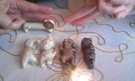 美奈子さんの箸置きコレクション