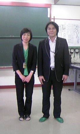 石垣昭子先生と