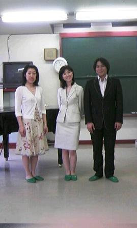 佐藤展子さん、小野千草さんと