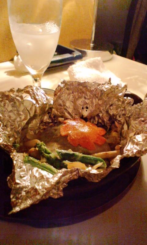 鱈のポン酢バター焼き