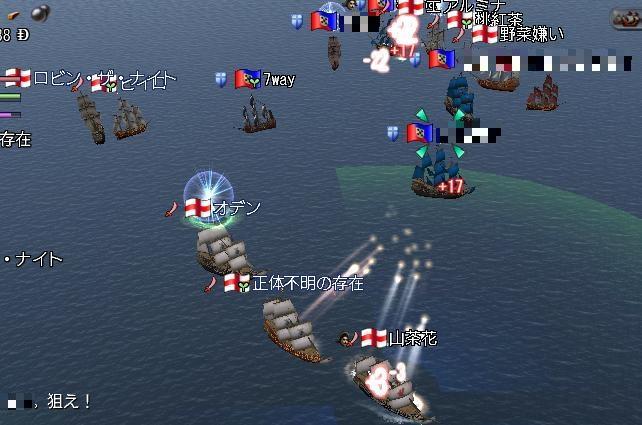 大海戦の様子