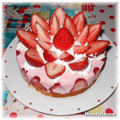 誕生日ケーキ♪