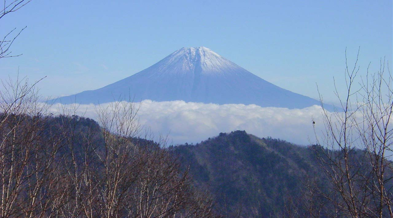 大谷崩八紘嶺捜索 029 富士山